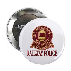 SF Muni Railway Police Button