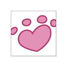 "Adopt Animals Square Sticker 3"" x 3"""