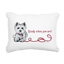 Ready.png Rectangular Canvas Pillow
