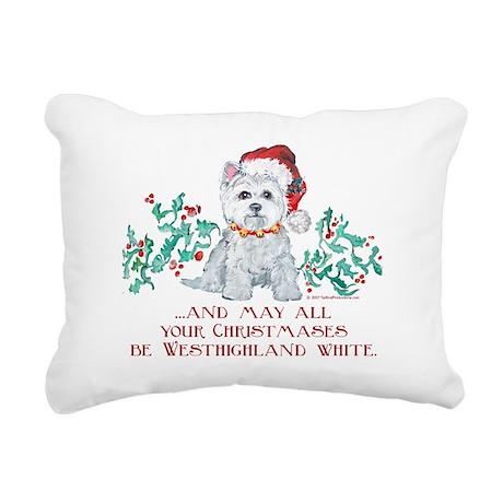 and may no snow.png Rectangular Canvas Pillow