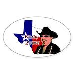 Texas Governor '06 Oval Sticker