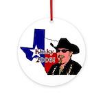 Texas Governor '06 Ornament (Round)