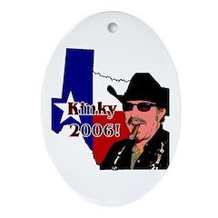 Texas Governor '06 Oval Ornament