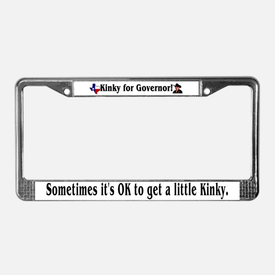 Texas Governor '06 License Plate Frame