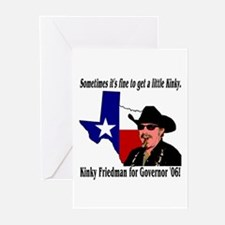 Texas Governor '06 Greeting Cards (Pk of 10)