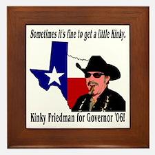 Texas Governor '06 Framed Tile