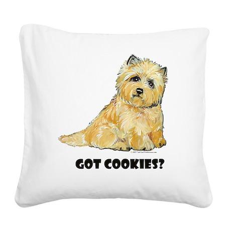 Got cookies 10x10.jpg Square Canvas Pillow