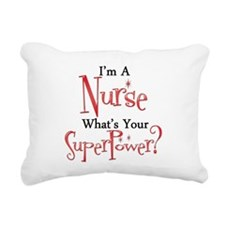 Super Nurse Rectangular Canvas Pillow