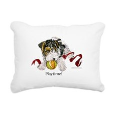 Fox Puppy 10x10 2.png Rectangular Canvas Pillow