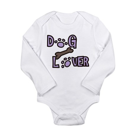 Dog Lover Long Sleeve Infant Bodysuit