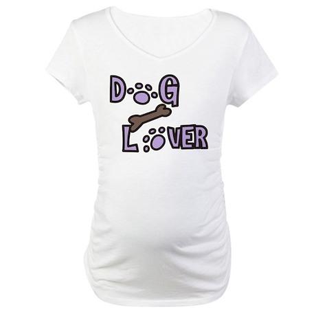 Dog Lover Maternity T-Shirt