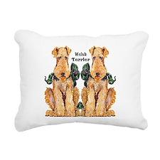 Welsh Terrier Rectangular Canvas Pillow