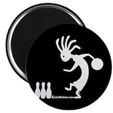 "Kokopelli Bowler 2.25"" Magnet (10 pack)"