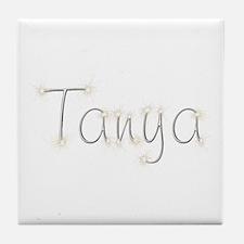 Tanya Spark Tile Coaster