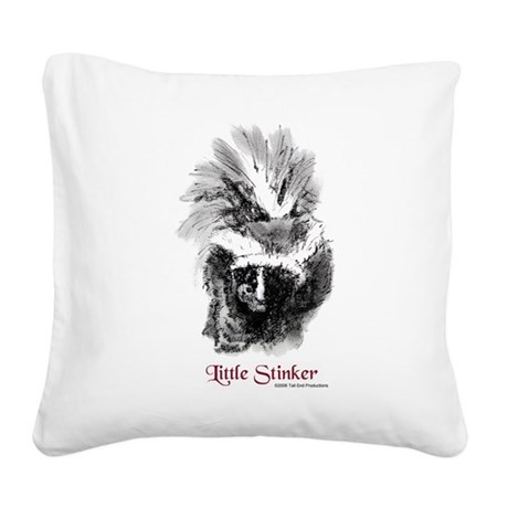 Stinker.png Square Canvas Pillow