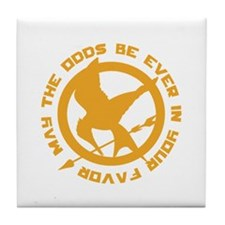 Hunger Games May the Odds Tile Coaster