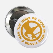 "Hunger Games May the Odds 2.25"" Button"