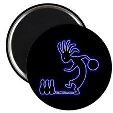 Kokopelli Bowler Magnet