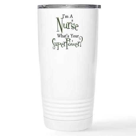 Super Nurse Stainless Steel Travel Mug
