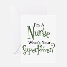 Super Nurse Greeting Card