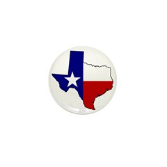Proud Texan, Dubs not. Mini Button (10 pack)