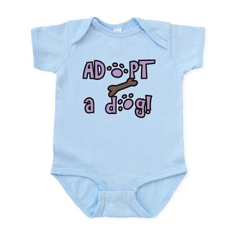 Adopt A Dog Infant Bodysuit