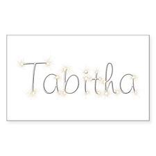 Tabitha Spark Rectangle Decal