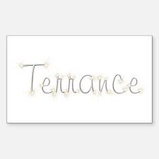 Terrance Spark Rectangle Decal