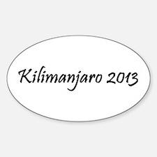 Kilimanjaro 2013 Decal