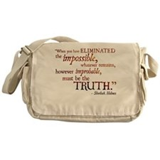 Unique The truth Messenger Bag