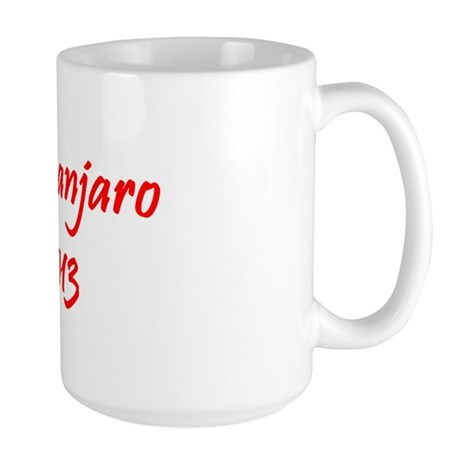 Kilimanjaro 2013 Large Mug
