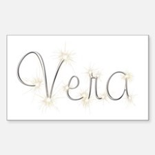 Vera Spark Rectangle Decal