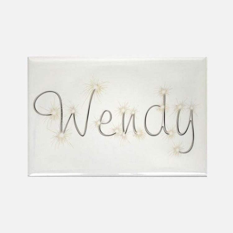 Wendy Spark Rectangle Magnet