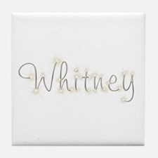 Whitney Spark Tile Coaster