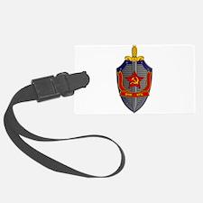 KGB Emblem Luggage Tag