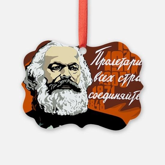 Karl Marx Ornament
