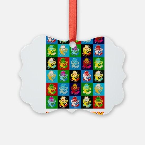 Pop Art Karl Marx Ornament