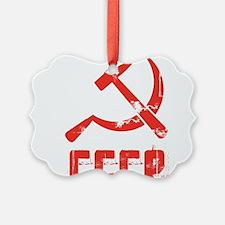 Vintage CCCP Ornament