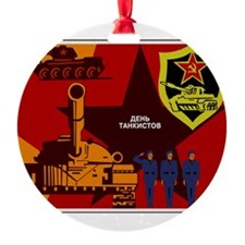 Tankman Day Ornament