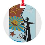 Revolution Round Ornament