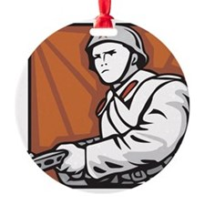 Soviet Soldier Ornament