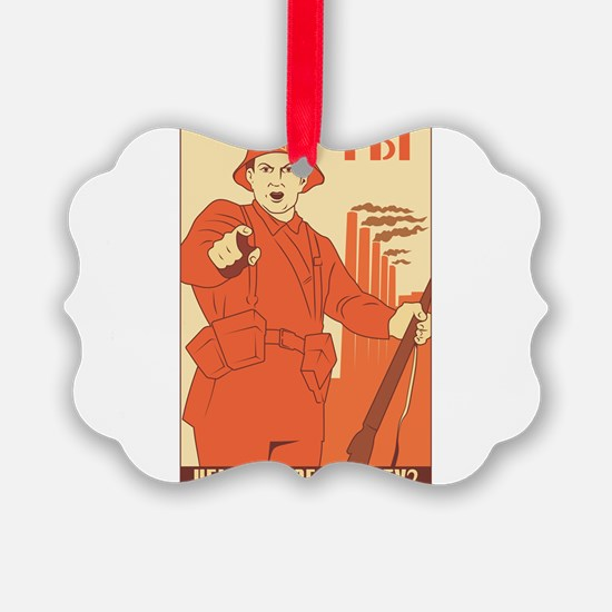 Red Army Ornament