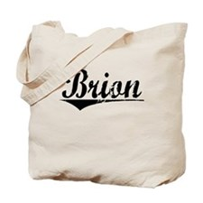 Brion, Aged, Tote Bag