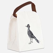 cool desert roadrunner Canvas Lunch Bag