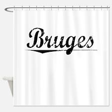 Bruges, Aged, Shower Curtain