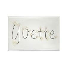 Yvette Spark Rectangle Magnet