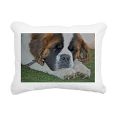 St. Bernard Rectangular Canvas Pillow