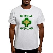 Medical Marijuana Cross T-Shirt