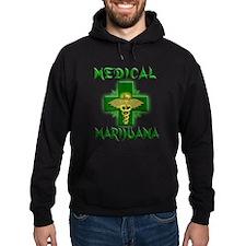 Medical Marijuana Cross Hoodie