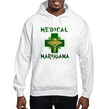 Medical Marijuana Cross Jumper Hoody
